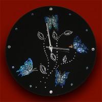 """Картина Swarovski """"Часы """"Дыхание ночи"""""""""""