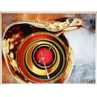 """Картина Swarovski """"Часы """"Год змеи"""""""""""