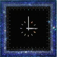 """Картина Swarovski """"Часы """"Голубой браслет"""""""""""