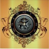 """Картина Swarovski """"Часы """" Механизм времени"""""""