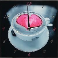 "Картина Swarovski ""Часы ""Напиток любви"""""