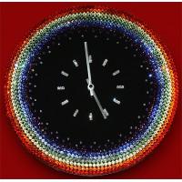 """Картина Swarovski """"Часы """"Радуга"""""""""""