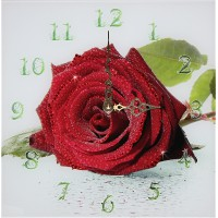 "Картина Swarovski ""Часы ""Роза"""""