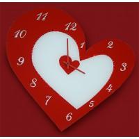 "Картина Swarovski ""Часы ""С любовью!"""""