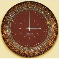 """Картина Swarovski """"Часы """"Солнечное ожерелье"""""""""""