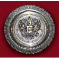 "Картина Swarovski ""Часы""Герб"""""
