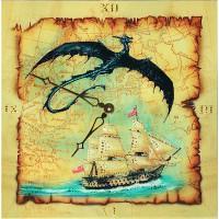 "Картина Swarovski ""Часы""Путешествие во времени"""""