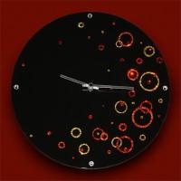 """Картина Swarovski """"Часы""""Воздушное пространство"""""""""""