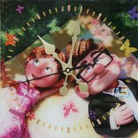 """Часы с кристаллами Swarovski """"Бабочки в животе"""""""