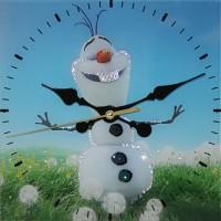 "Часы с кристаллами Swarovski ""Летний Снеговик"""