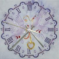 """Часы с кристаллами Swarovski """"Любовь и голуби"""""""