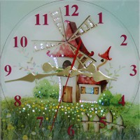 """Часы с кристаллами Swarovski """"Сказочный Мир"""""""
