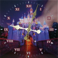 "Часы с кристаллами Swarovski ""Замок"""