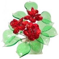 Букет цветов на мраморе