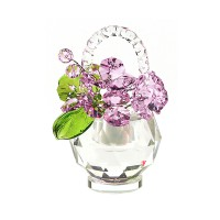 Хрустальные цветы в корзинке