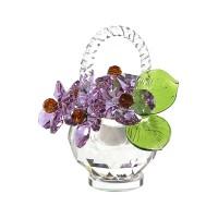 Корзинка хрустальных цветов
