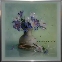 "Картина с кристаллами Swarovski ""Весна"""