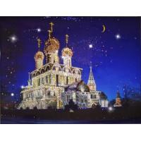 """Картина Swarovski """"Воскресенский Собор (Тутаев)"""""""