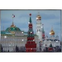"""Картина с кристаллами Swarovski """"Дом правительства"""""""