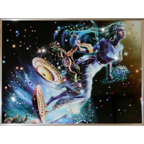 Картина с кристаллами Swarovski