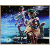 "Картина с кристаллами Swarovski ""Овен Кагая"""