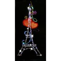 """Картина с кристаллами Swarovski """"Из Парижа с любовью"""""""