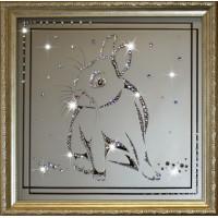 "Картина с кристаллами Swarovski ""Кролик"""