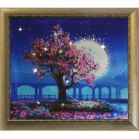 "Картина Swarovski ""Лунный свет"""