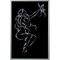 """Картина с кристаллами Swarovski """"Очарование"""""""