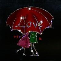 """Картина с кристаллами Swarovski """"Романтика"""""""