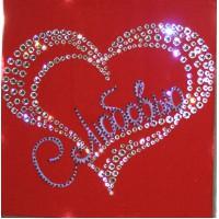"Картина с кристаллами Swarovski ""Сердце"""