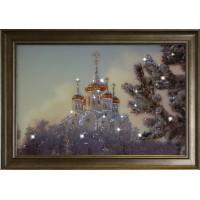 "Картина с кристаллами Swarovski ""Храм"""