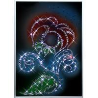 "Картина с кристаллами Swarovski ""Цветок"""