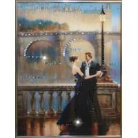 "Картина с кристаллами Swarovski ""Танец Любви"""