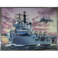 "Картина Swarovski ""Военный корабль"""