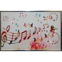 "Картина Swarovski ""Музыка настроения"""