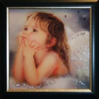 """Картина Swarovski """"Ты мой ангел"""""""