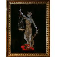 "Картина с кристаллами Swarovski ""Богиня правосудия Фемида"""