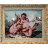"Картина Swarovski ""Небесные ангелы"""