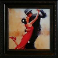 "Картина с кристаллами Swarovski ""Танго"""