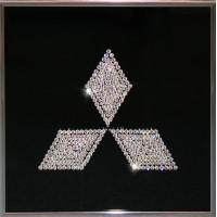 """Картина Swarovski """"Mitsubishi"""""""
