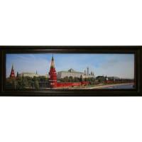 """Картина с кристаллами Swarovski """"Большой Кремлевский Дворец"""""""