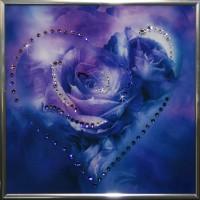 "Картина с кристаллами Swarovski ""Сердечко №1"""