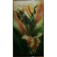 """Картина с кристаллами Swarovski """"Каллы №1"""""""