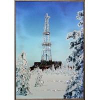 """Картина Swarovski """"Нефтяная вышка"""""""