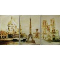 """Картина Swarovski """"Париж"""""""