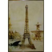 "Картина с кристаллами Swarovski ""Эйфелева башня"""
