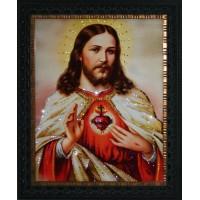 "Картина Swarovski ""Сердце Христа"""