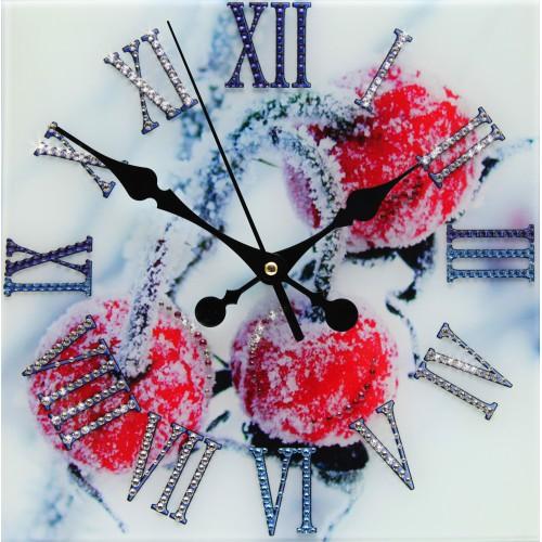 """Часы """"Зимняя вишня"""""""