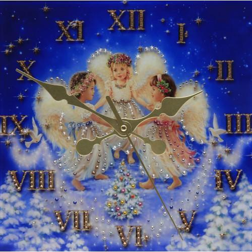 """Часы """"Рождественские ангелы"""""""